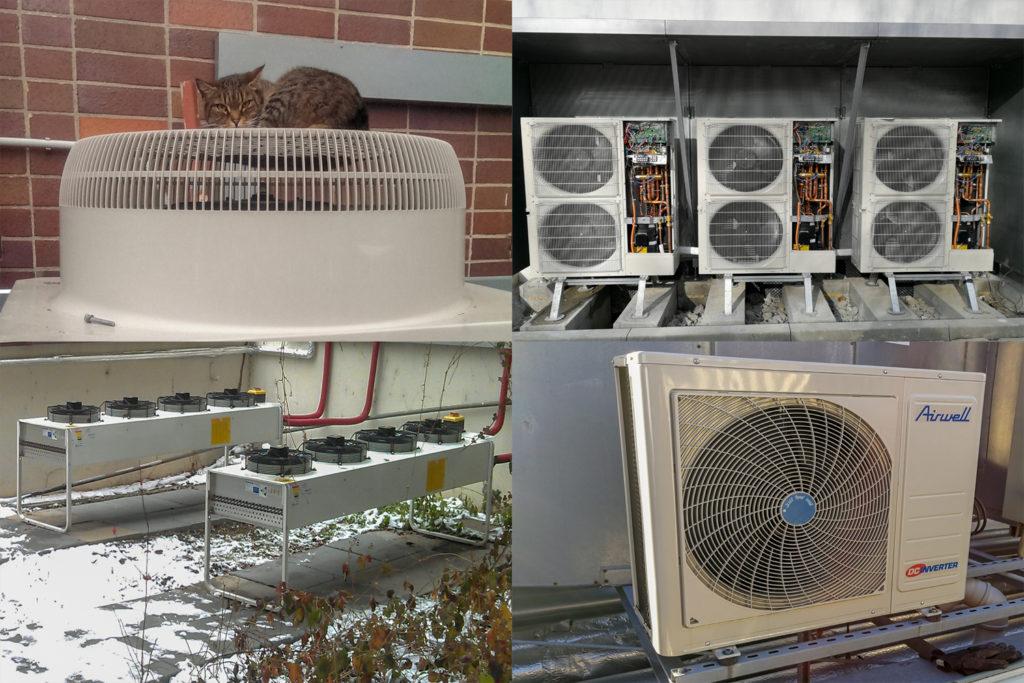 Ilustační foto klimatizací